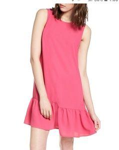 Halogen Aline pink dress